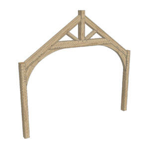 Raised Tie Truss - Hardwoods Group