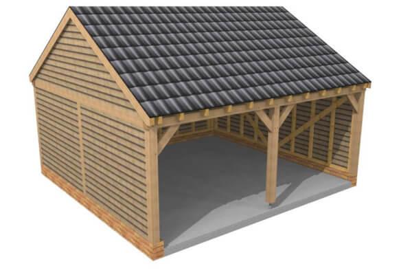 2 Bay Garage - Hardwoods Group