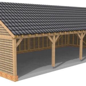 4 bay garage - Hardwoods Group